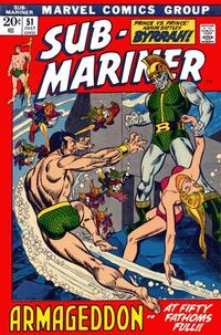 Cover Thumbnail for Sub-Mariner (Marvel, 1968 series) #51