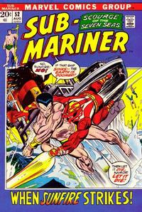 Cover Thumbnail for Sub-Mariner (Marvel, 1968 series) #52