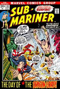 Cover Thumbnail for Sub-Mariner (Marvel, 1968 series) #53