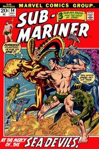 Cover Thumbnail for Sub-Mariner (Marvel, 1968 series) #54