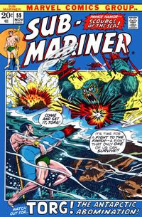 Cover Thumbnail for Sub-Mariner (Marvel, 1968 series) #55