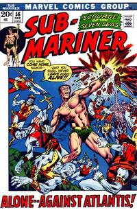 Cover Thumbnail for Sub-Mariner (Marvel, 1968 series) #56