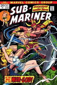 Cover Thumbnail for Sub-Mariner (Marvel, 1968 series) #57