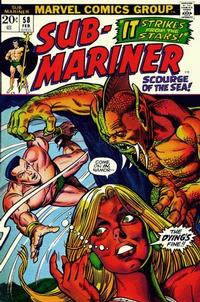 Cover Thumbnail for Sub-Mariner (Marvel, 1968 series) #58