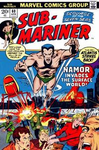 Cover Thumbnail for Sub-Mariner (Marvel, 1968 series) #60