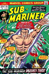 Cover Thumbnail for Sub-Mariner (Marvel, 1968 series) #63