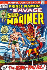 Cover Thumbnail for Sub-Mariner (Marvel, 1968 series) #65