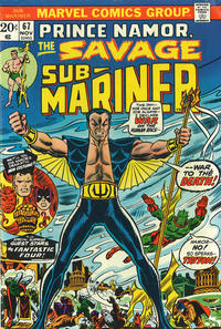 Cover Thumbnail for Sub-Mariner (Marvel, 1968 series) #67