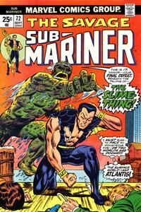 Cover Thumbnail for Sub-Mariner (Marvel, 1968 series) #72