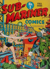 Cover Thumbnail for Sub-Mariner Comics (Marvel, 1941 series) #3