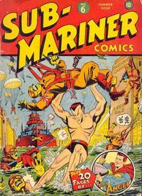 Cover Thumbnail for Sub-Mariner Comics (Marvel, 1941 series) #6