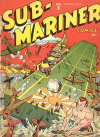 Cover Thumbnail for Sub-Mariner Comics (Marvel, 1941 series) #8