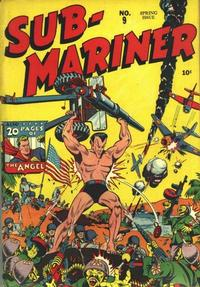 Cover Thumbnail for Sub-Mariner Comics (Marvel, 1941 series) #9