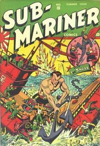 Cover Thumbnail for Sub-Mariner Comics (Marvel, 1941 series) #10