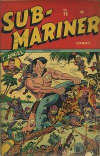 Cover Thumbnail for Sub-Mariner Comics (Marvel, 1941 series) #15