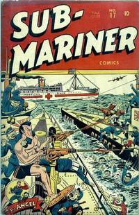 Cover Thumbnail for Sub-Mariner Comics (Marvel, 1941 series) #17