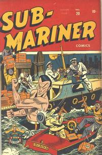 Cover Thumbnail for Sub-Mariner Comics (Marvel, 1941 series) #20