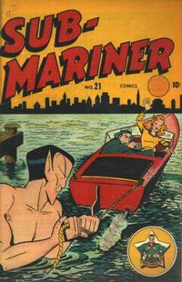 Cover Thumbnail for Sub-Mariner Comics (Marvel, 1941 series) #21