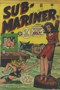 Cover Thumbnail for Sub-Mariner Comics (Marvel, 1941 series) #24