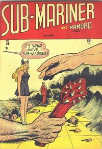 Cover Thumbnail for Sub-Mariner Comics (Marvel, 1941 series) #29