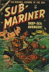 Cover Thumbnail for Sub-Mariner Comics (Marvel, 1954 series) #33