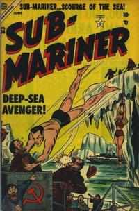 Cover Thumbnail for Sub-Mariner Comics (Marvel, 1954 series) #34