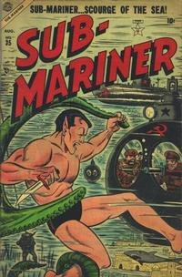 Cover Thumbnail for Sub-Mariner Comics (Marvel, 1954 series) #35