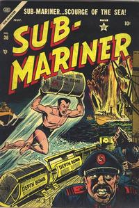 Cover Thumbnail for Sub-Mariner Comics (Marvel, 1954 series) #36