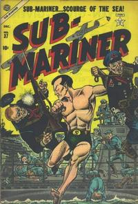Cover Thumbnail for Sub-Mariner Comics (Marvel, 1954 series) #37