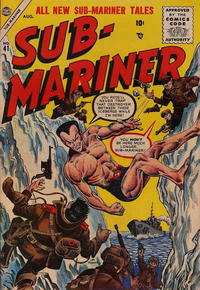 Cover Thumbnail for Sub-Mariner Comics (Marvel, 1954 series) #41