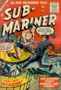 Cover Thumbnail for Sub-Mariner Comics (Marvel, 1954 series) #42