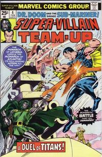 Cover Thumbnail for Super-Villain Team-Up (Marvel, 1975 series) #4