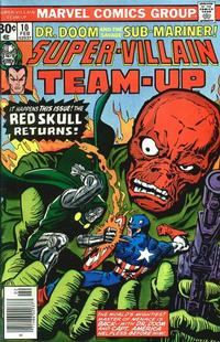 Cover Thumbnail for Super-Villain Team-Up (Marvel, 1975 series) #10