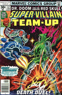 Cover Thumbnail for Super-Villain Team-Up (Marvel, 1975 series) #12 [30 cent cover edition]
