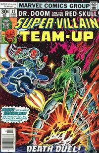 Cover Thumbnail for Super-Villain Team-Up (Marvel, 1975 series) #12 [30¢]