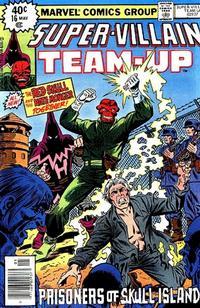 Cover Thumbnail for Super-Villain Team-Up (Marvel, 1975 series) #16