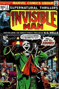 Cover Thumbnail for Supernatural Thrillers (Marvel, 1972 series) #2