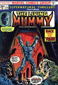 Cover Thumbnail for Supernatural Thrillers (Marvel, 1972 series) #7