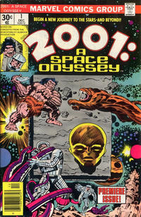 Cover Thumbnail for 2001, A Space Odyssey (Marvel, 1976 series) #1