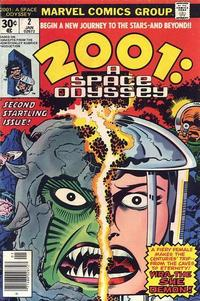 Cover Thumbnail for 2001: A Space Odyssey (Marvel, 1976 series) #2