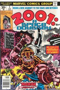 Cover Thumbnail for 2001: A Space Odyssey (Marvel, 1976 series) #3