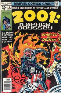 Cover Thumbnail for 2001, A Space Odyssey (Marvel, 1976 series) #4 [Regular Edition]