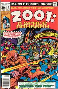 Cover Thumbnail for 2001: A Space Odyssey (Marvel, 1976 series) #5