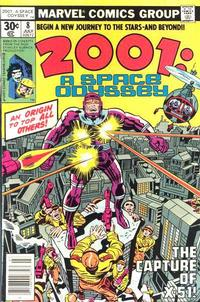 Cover Thumbnail for 2001: A Space Odyssey (Marvel, 1976 series) #8 [30 cent cover price]