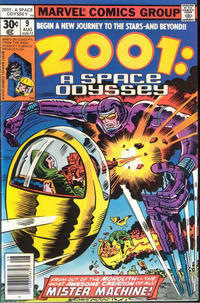 Cover Thumbnail for 2001: A Space Odyssey (Marvel, 1976 series) #9 [30 cent cover price]