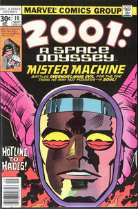 Cover Thumbnail for 2001: A Space Odyssey (Marvel, 1976 series) #10 [30 cent cover price]