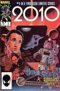 Cover Thumbnail for 2010 (Marvel, 1985 series) #1 [Direct Edition]
