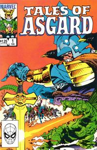 Cover Thumbnail for Tales of Asgard (Marvel, 1984 series) #1