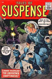 Cover Thumbnail for Tales of Suspense (Marvel, 1959 series) #1