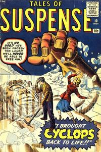 Cover Thumbnail for Tales of Suspense (Marvel, 1959 series) #10